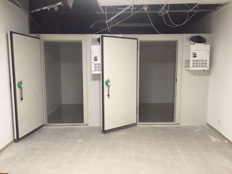 Zwei Kühlzellen nebeneinander