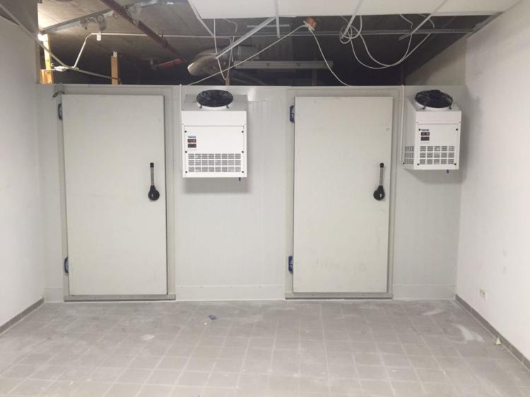 Kleines Kühlhaus von Zellenprofi